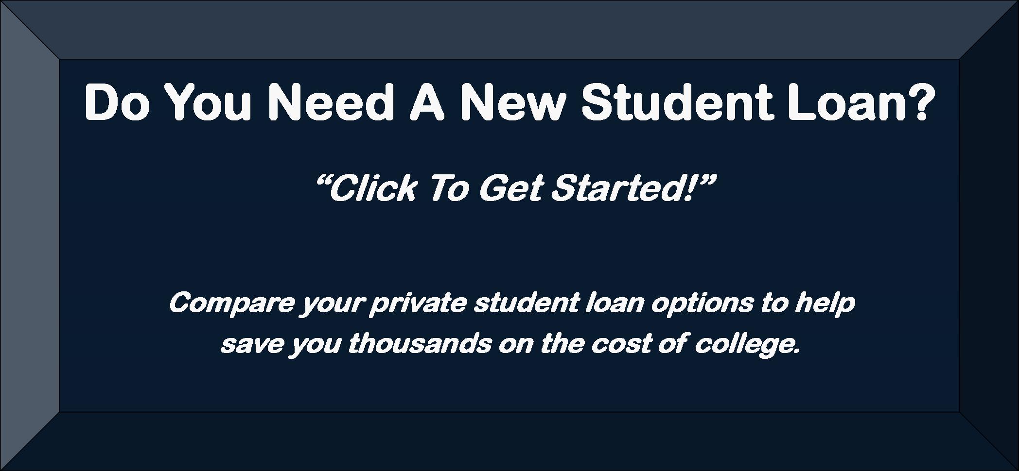New Student Loan Options
