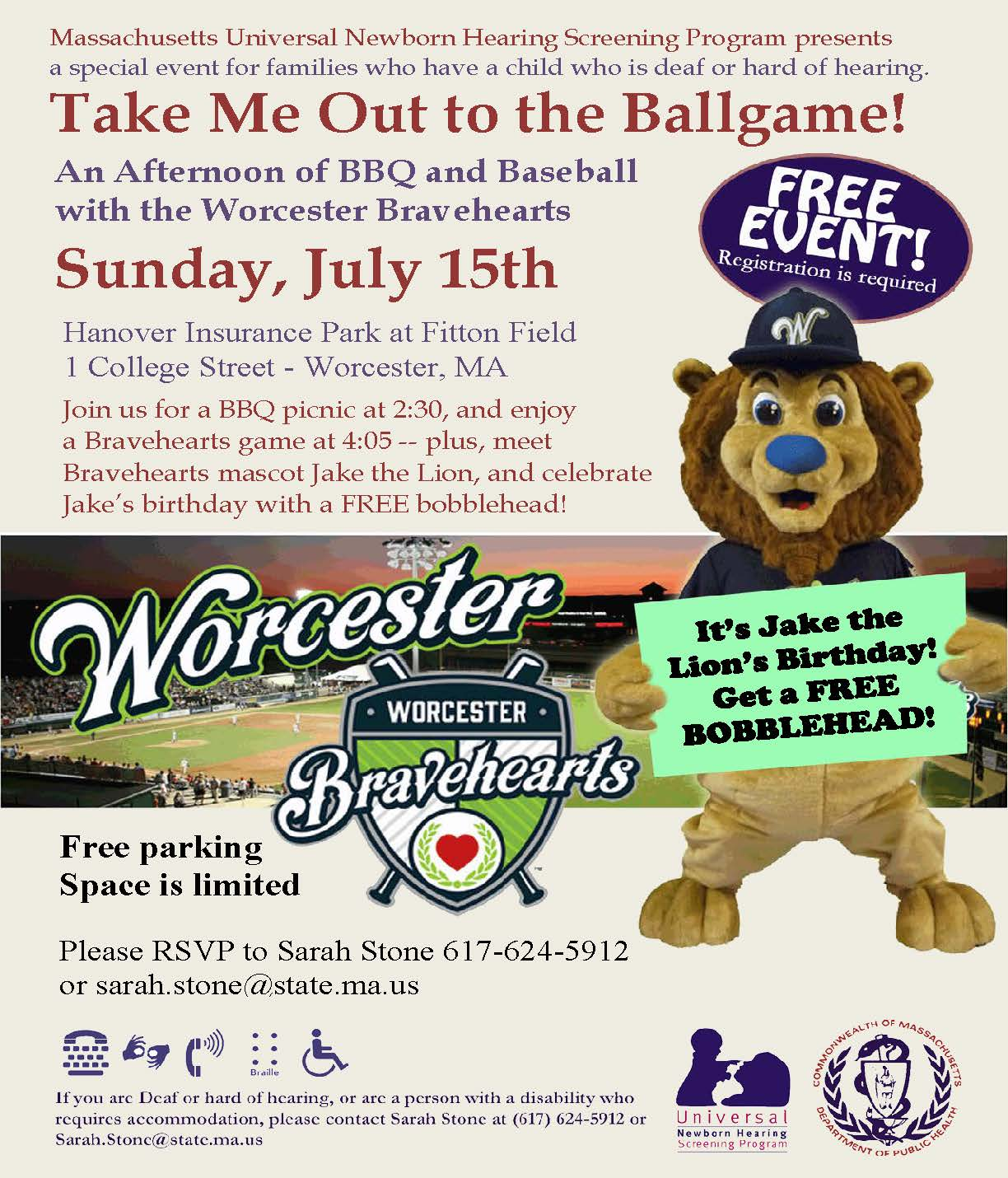 Family Day at Worcester Bravehearts