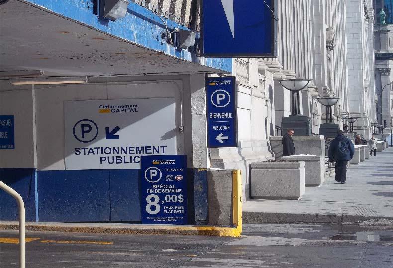 Stationnement Capital