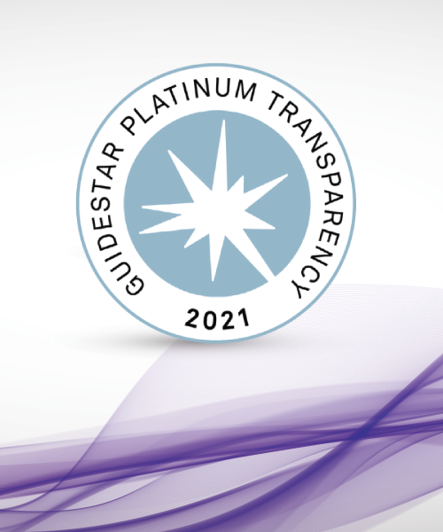DuPage Foundation earned a 2021 Platinum Seal of Transparency, the highest level of recognition from GuideStar.