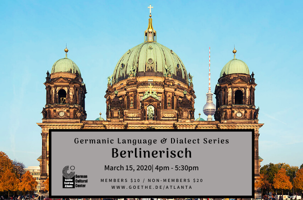 Germanic Language and Dialect Series: Berlinerisch!