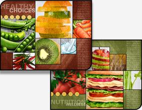Hybrid Food Art Murals