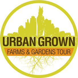 Urban Grown Farms & Gardens Tour logo