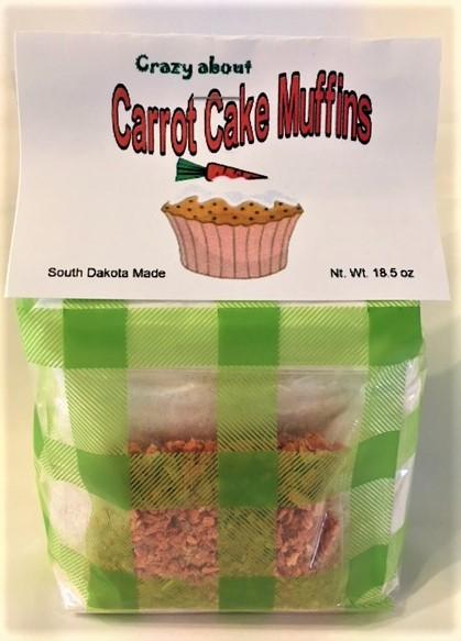 Grasslands Crazy About Carrot Cake Muffins