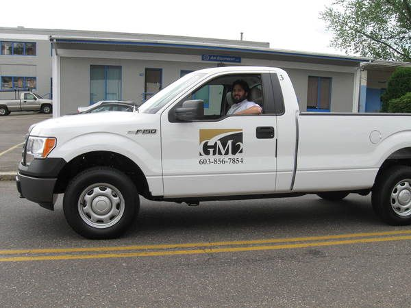 Fleet Graphics, Pickup Truck Door Lettering & Logo Graphics
