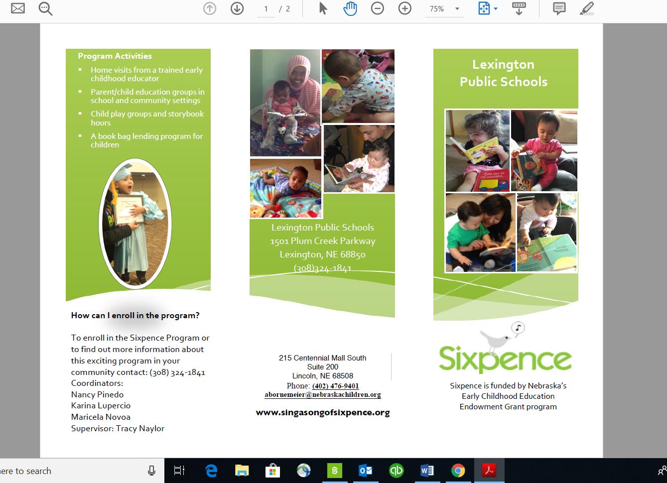 Sixpense Brochure