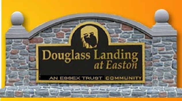 K20013 - EPS Monument Entrance  Sign for Douglass Landing Apartments, with Faux Stone Veneer