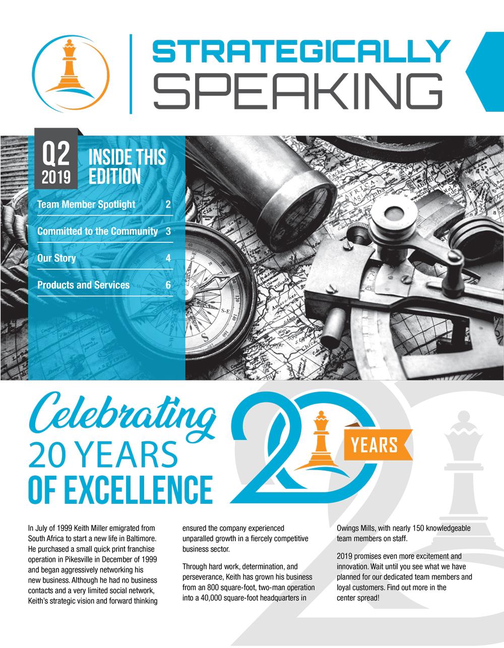 Strategically Speaking (Quarter 2, 2019)