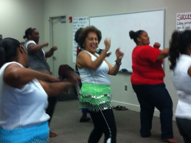 Zumba finds home at Pathways
