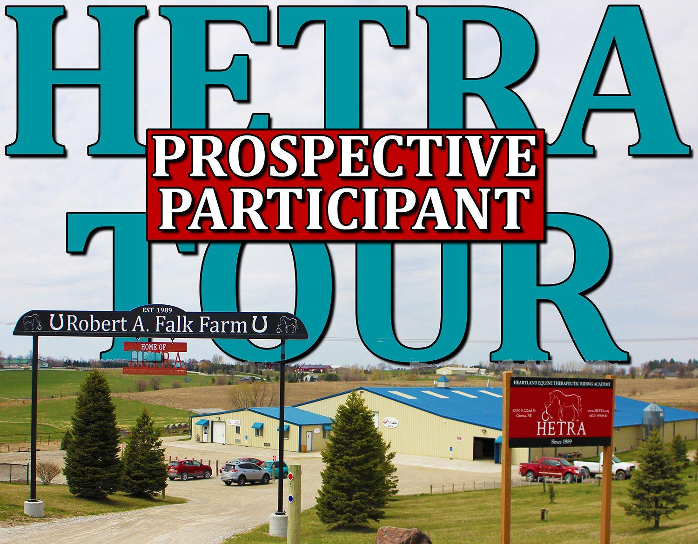 Prospective Participant Tour