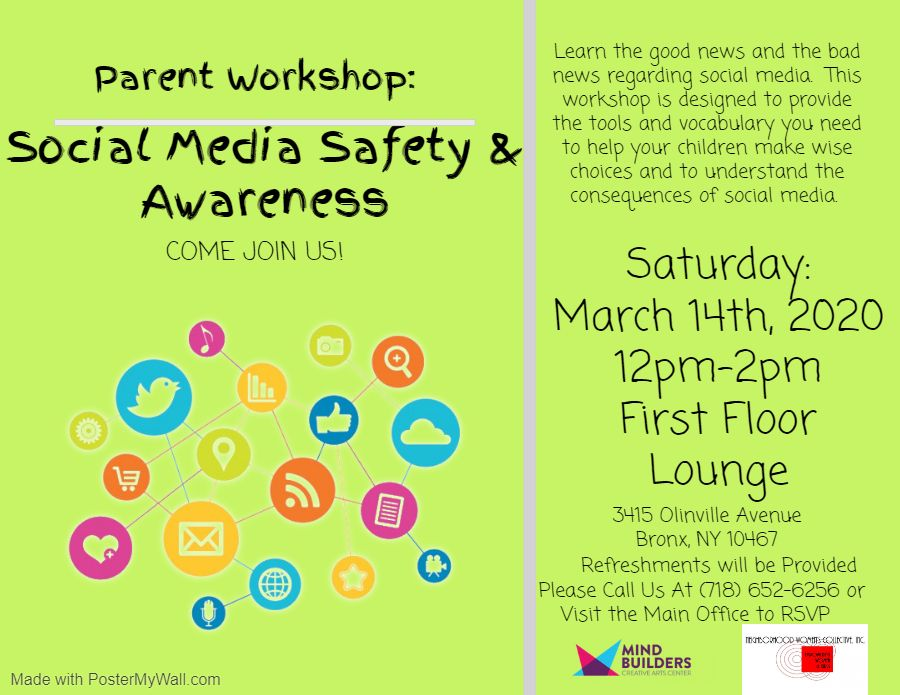 CANCELED - Parent Workshop (Screen Time and Social Media 101)