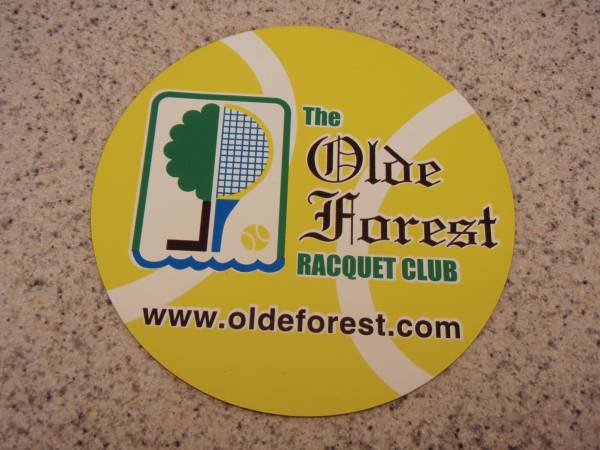 Olde Forest Racquet Club Magnet
