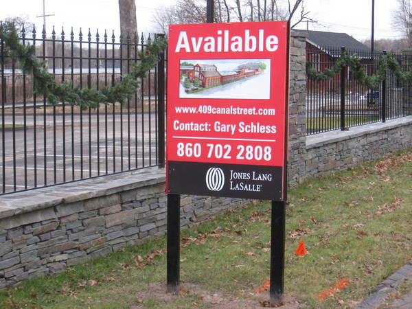 """Real Estate """"Available"""" Sign with Photo"""