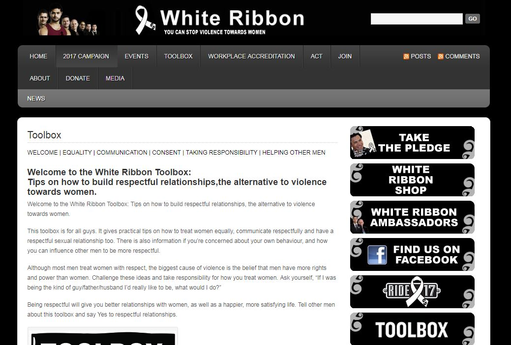 Start with Respect: White Ribbon of New Zealand