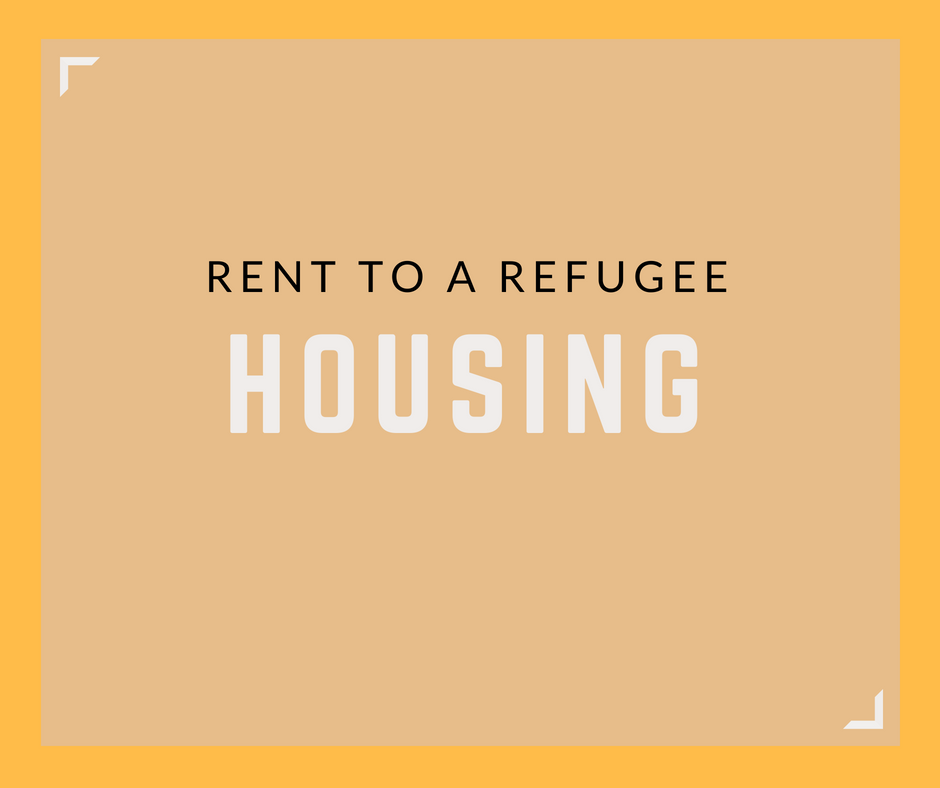 Rent to a Refugee