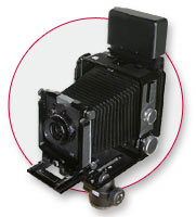 4X5 Medium Format Camera with Digital Back