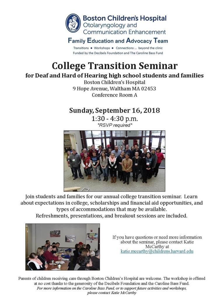 College Transition Seminar
