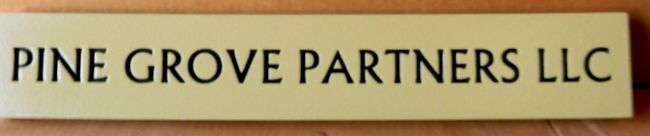C12095 - Engraved Office Name Sign