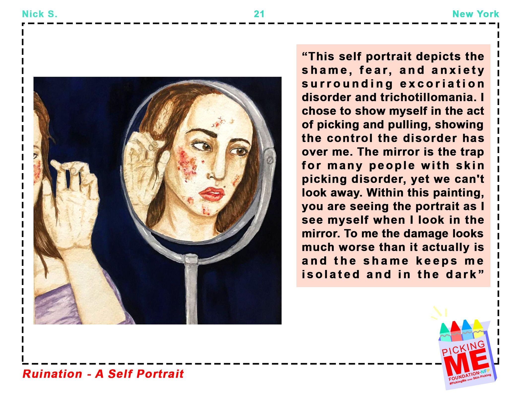 """""""Ruination- a self portrait"""""""