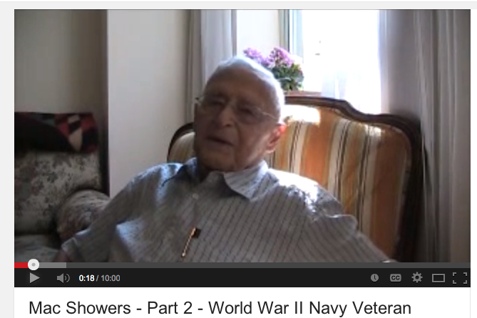 "Interview with RADM ""Mac"" Showers"