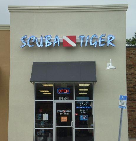 Scuba tiger