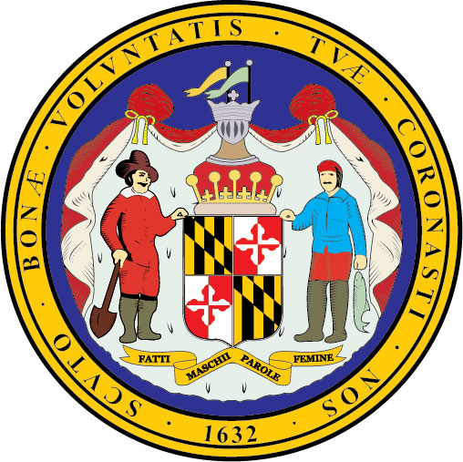 W32250 -Seal of the State of Maryland Wall Plaque