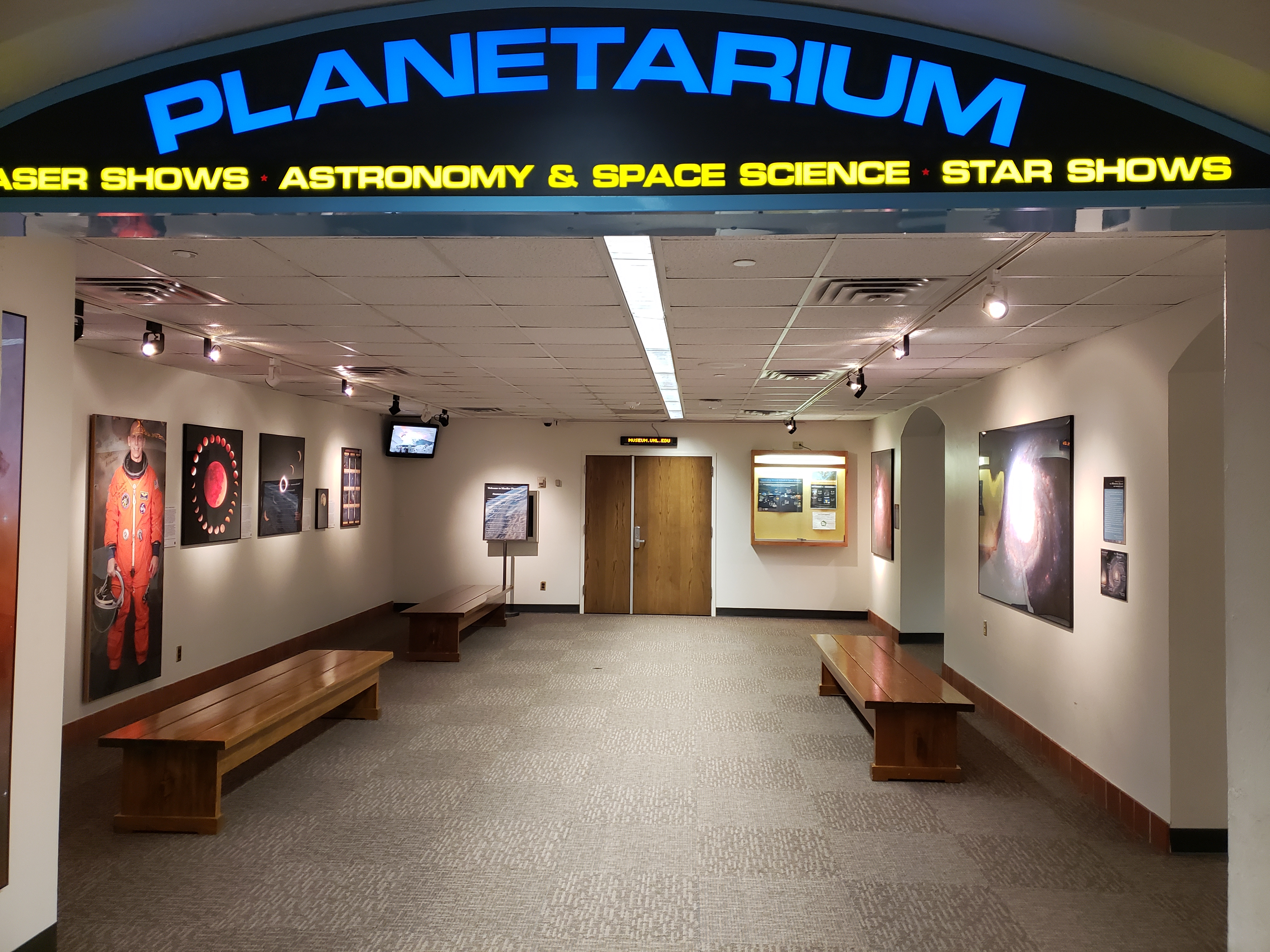 Planetarium lobby today