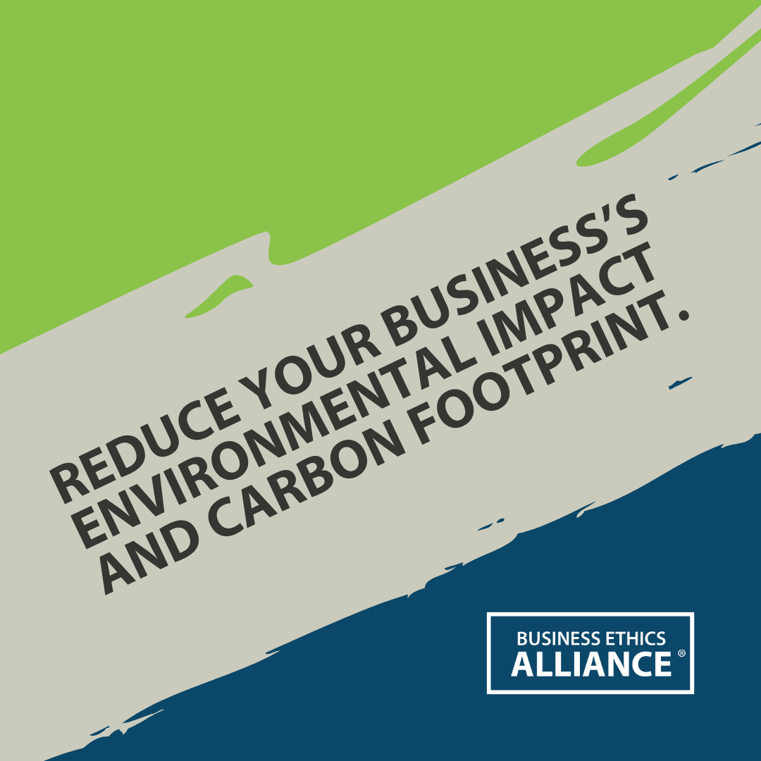 Ways to Reduce Your Business's Carbon Footprint