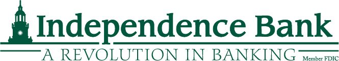 Independence Bank Sponsor Logo