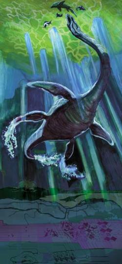 A Mesozoic Plesiosaur