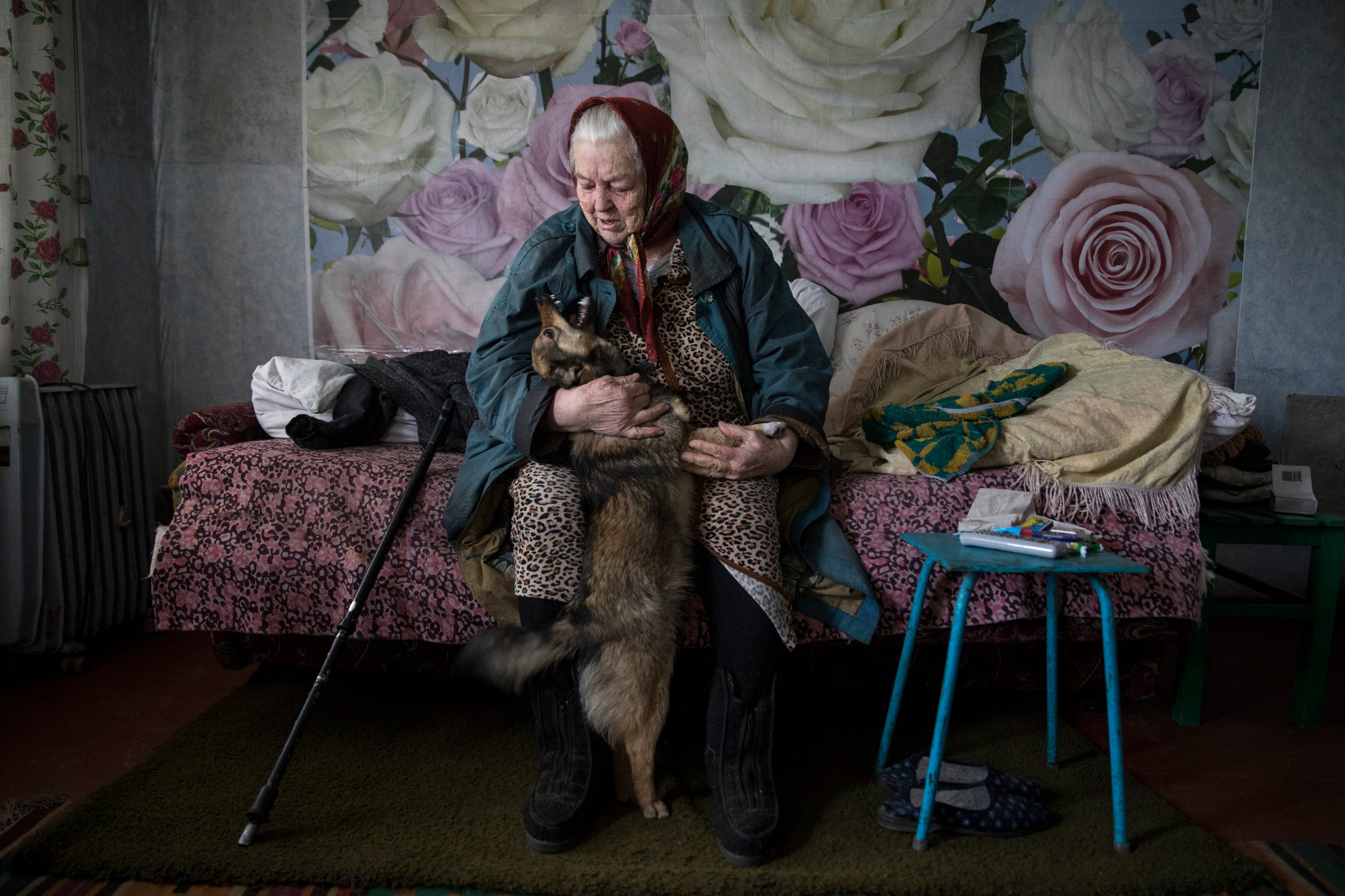 Growing Old Amid Shelling and Frostbite in Ukraine