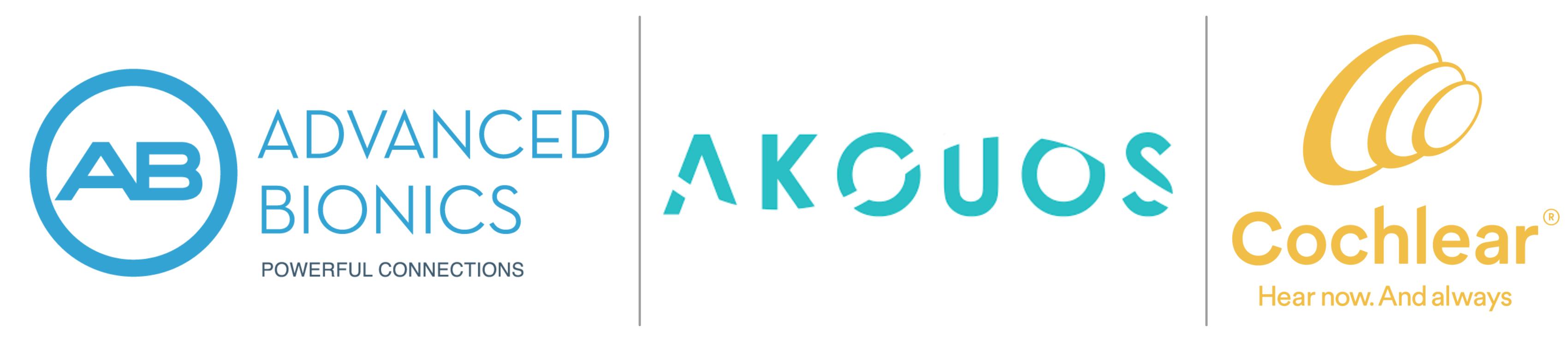 Bronze Sponsors: Advanced Bionics, Akouos, Cochlear Americas
