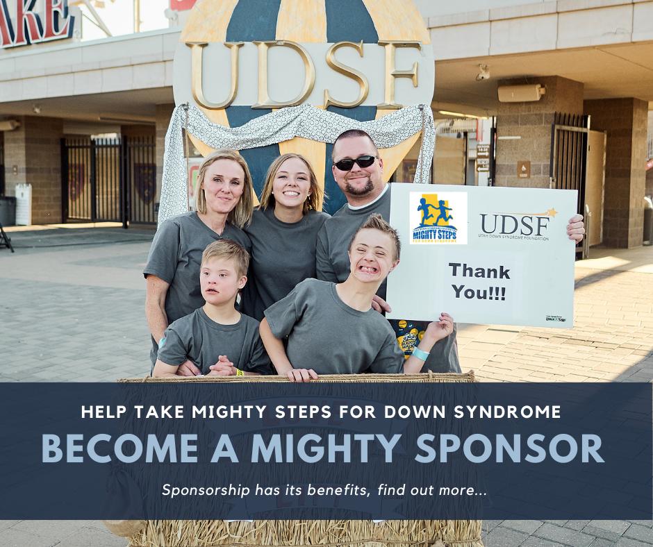 Sponsor Mighty Steps