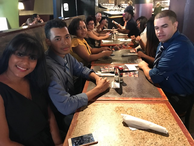 2018 UYCP Intern Luncheon