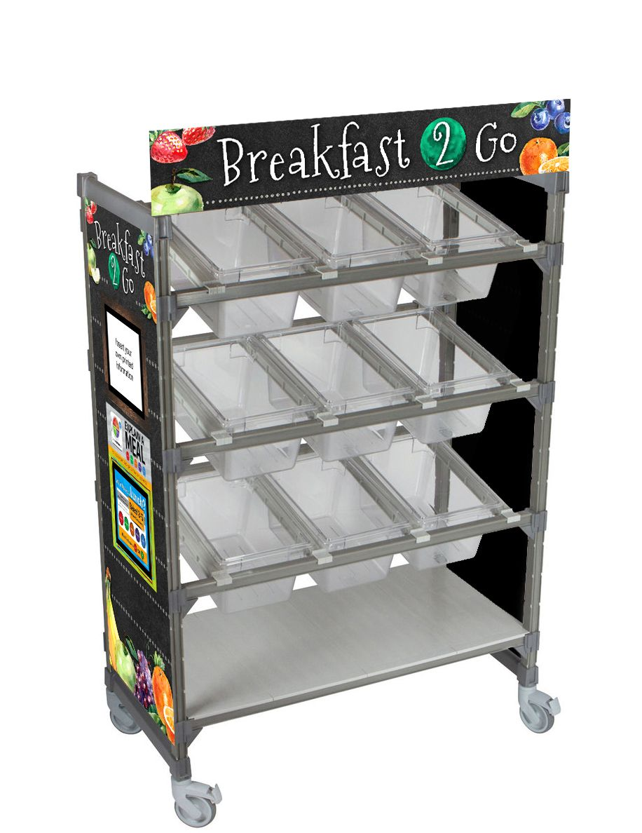 Breakfast 2 Go Flex Cart Graphics