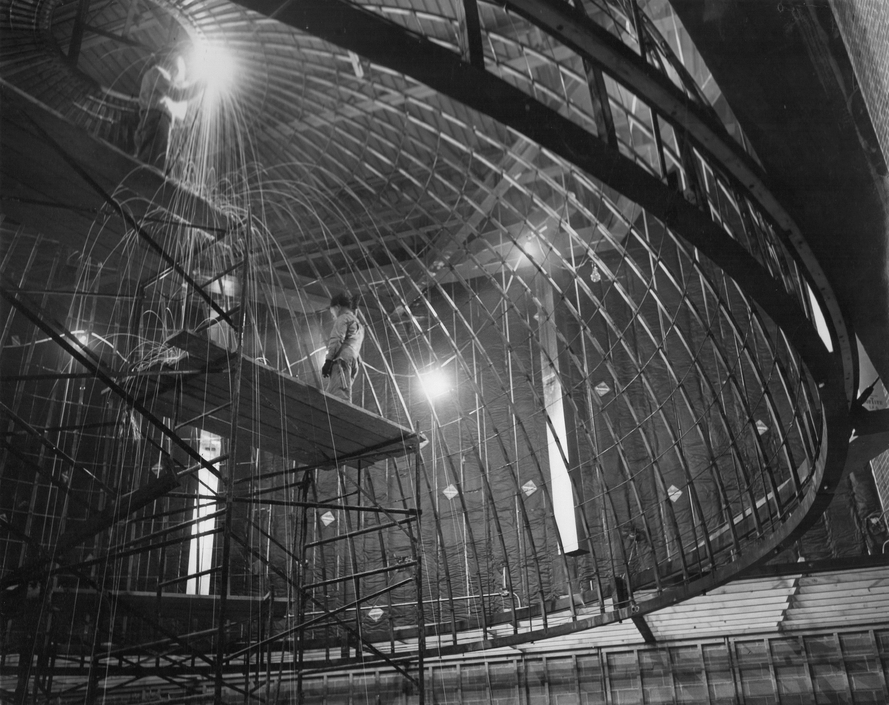 Planetarium construction (1957)