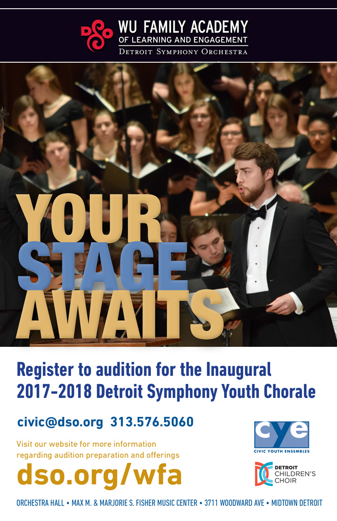 DCC Announces Detroit Symphony Youth Chorale