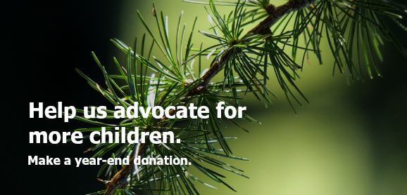 Make a year-end donation.
