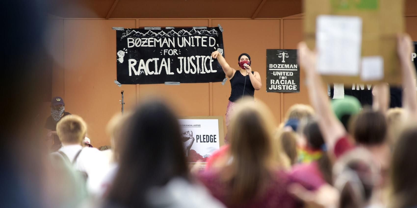 Under the microscope: People of color hope for change in Montana, U.S.