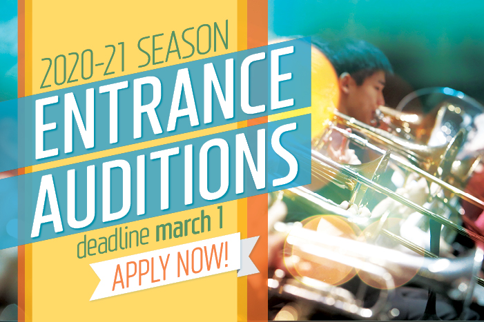 2020-2021 Entrance Auditions