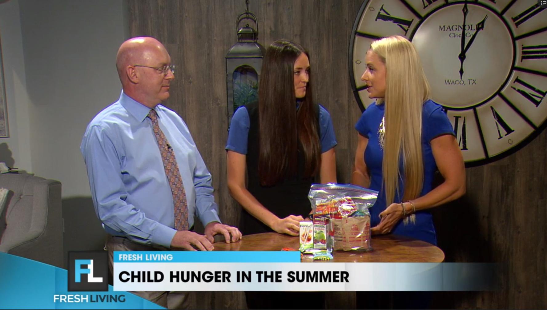 KUTV 2 Fresh Living: Child Hunger During Summer Months