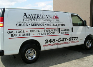 Contractor truck lettering Bend OR