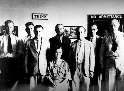1929: Sec of War created the Signal Corps - Signals Intelligence Service.
