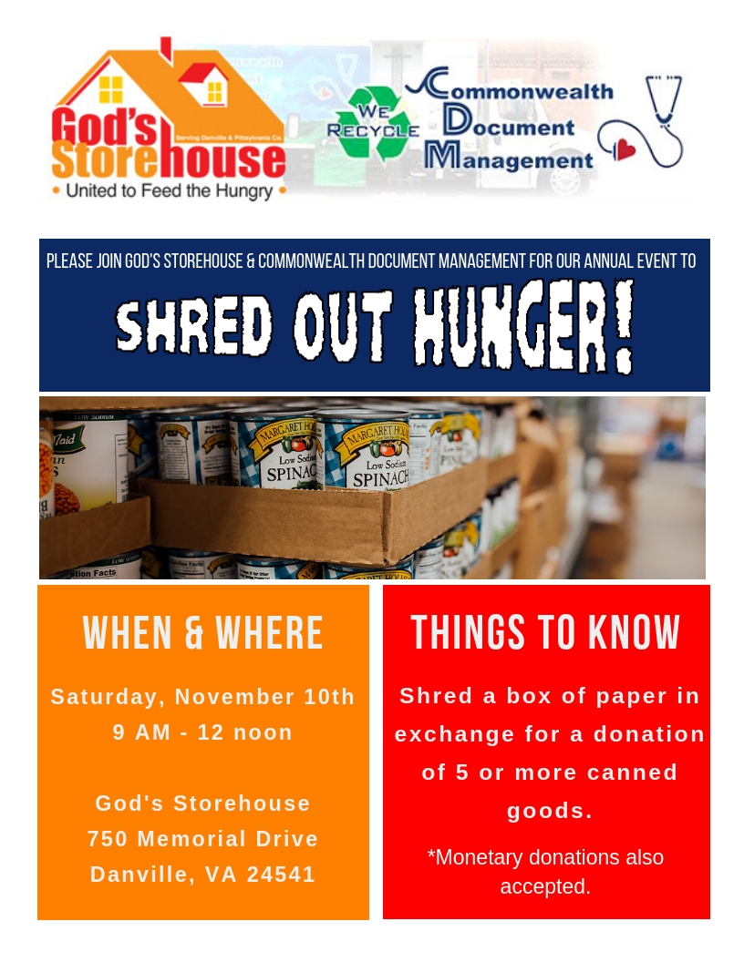 Shred Out Hunger