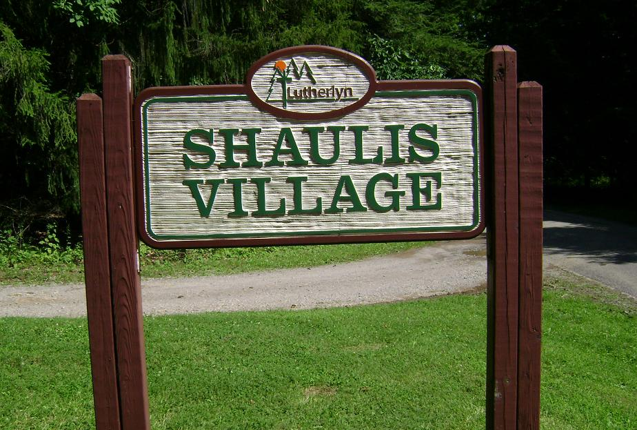 Shaulis Village Sign