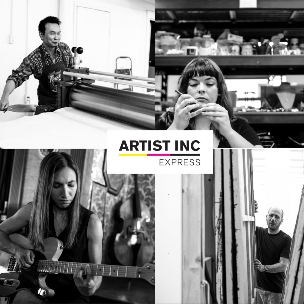 Artist INC Express Program Comes to Nebraska
