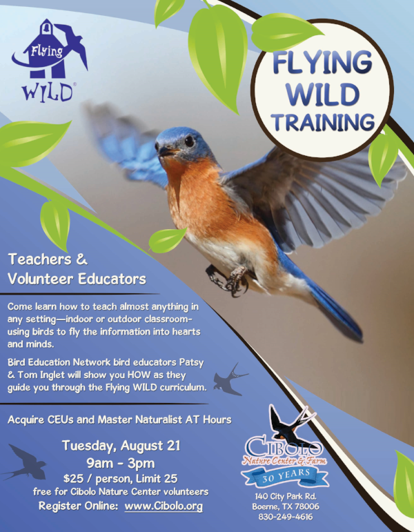 CNC: Flying WILD Training