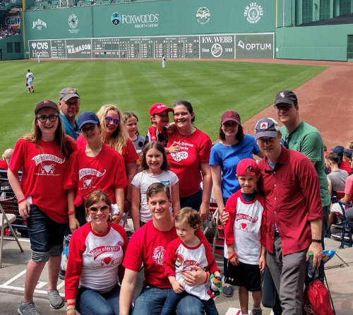 CHF Night at Fenway Park (Massachusetts)