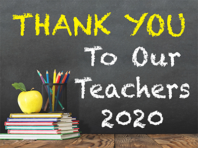 Teacher Appreciation Sign