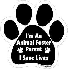 Foster Parent (paw print)